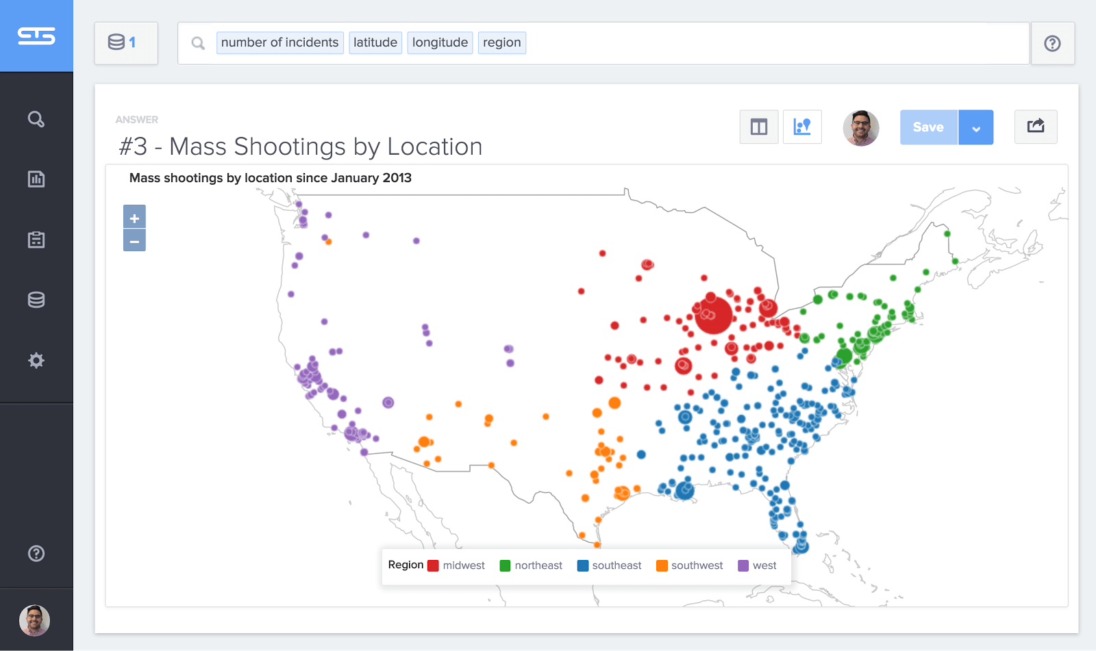 Mass Shootings By State Map.Crime States With More Permissive Gun Laws Have More Mass