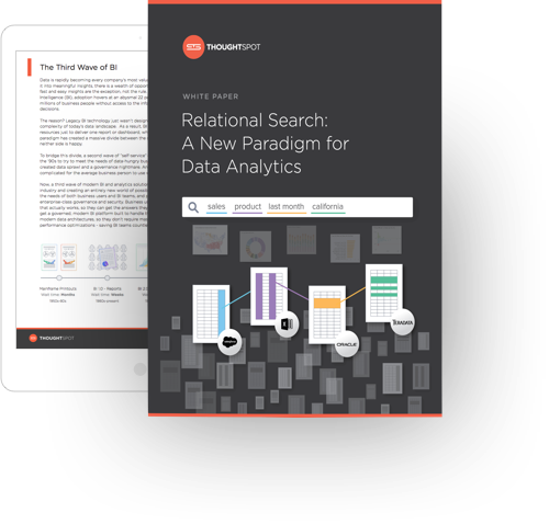 Relational Search: A New Paradigm in Data Analytics