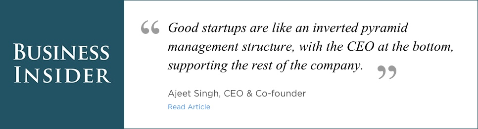 Business Insider - Interview with Ajeet Singh - CEO & Co-Founder