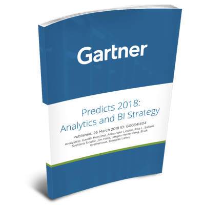 Gartner Report: Predicts 2018: Analytics and BI Strategy: