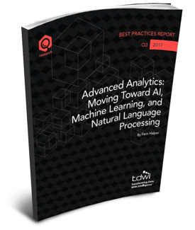 Advanced Analytics: Moving Towards AI, Machine Learning, and Natural Language Processing