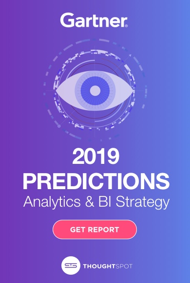 Gartner Report - 2019 Predictions: Analytics & BI Strategy