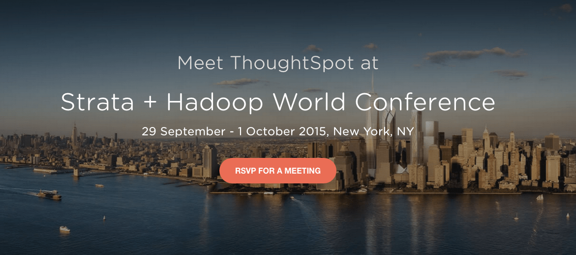 ThoughtSpot at Strata